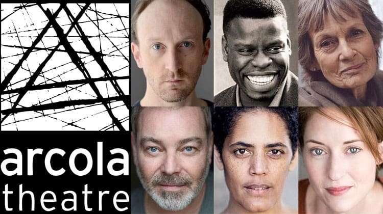 Richard II cast at Arcola Theatre 2017