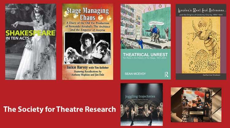 Nominees for Theatre BookPrize 2017