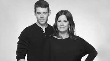 Brian J. Smith & Marcia Gat Harden in Sweet Bird of Youth