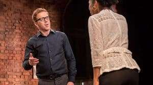 Damian Lewis & Sophie Okonedo in Edward Albee's The Goat, Or Who Is Sylvia (c) Johan Persson