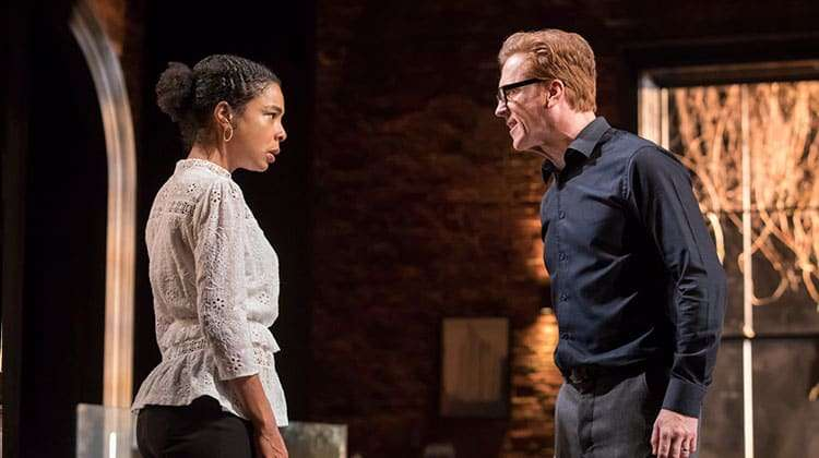 Damian Lewis  & Sophie Okonedo in The Goat, Or Who Is Sylvia (c) Johan Persson | The Goat, or Who Is Sylvia? at the Theatre Royal Haymarket