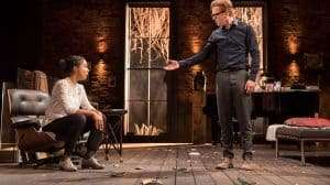 Damian Lewis & Sophie Okonedo in The Goat, Or Who Is Sylvia (c) Johan Persson
