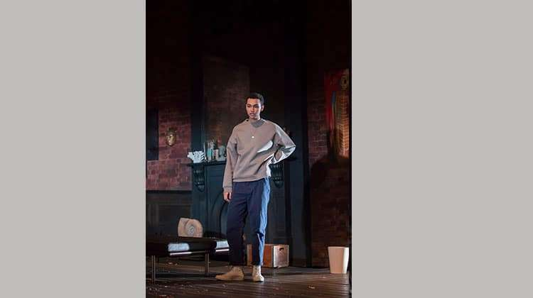 Archie Madekwe in Edward Albee's The Goat, Or Who Is Sylvia (c) Johan Persson