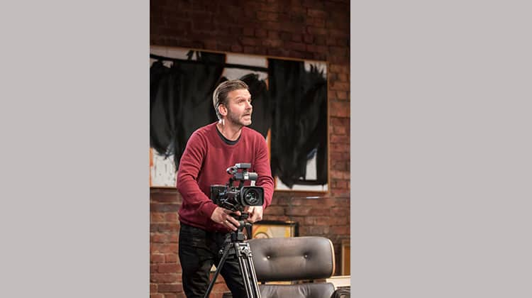 Jason Hughes in Edward Albee's The Goat, Or Who Is Sylvia (c) Johan Persson