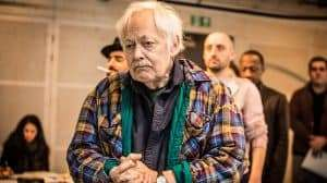 Michael Pennington in rehearsal for The Resistible Rise of Arturo Ui at the Donmar Warehouse.