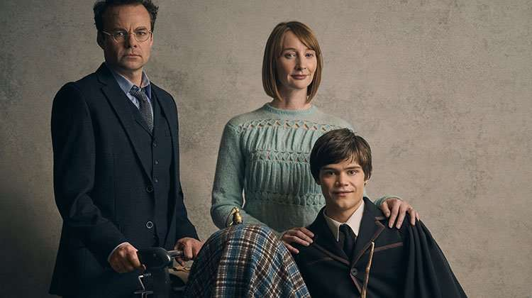 The Potter Family - Jamie Glover, Emma Lowndes & Theo Ancient | Harry Potter play release new cast portraits
