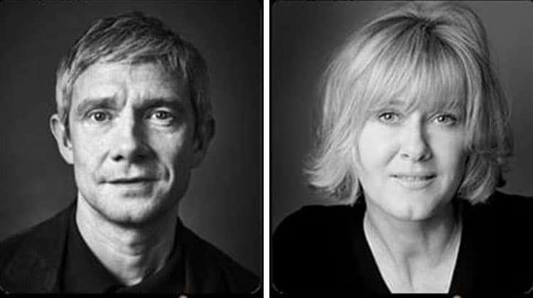 Martin Freeman & Sarah Lancashire