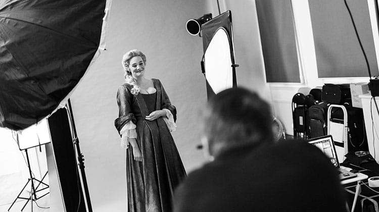 Romola Garai. Photo by Marco Giovannini. | In pictures: Romola Garai & Emma Cunnife in Queen Anne