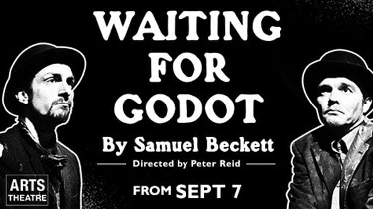 samuel becketts waiting for godot Based on the play waiting for godot by samuel beckett summary: two men, vladimir and estragon, meet near a tree they converse on various topics and reveal that they are waiting there for a man.