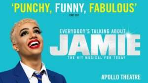 Noah Thomas in Everybody's Talking About Jamie Artwork