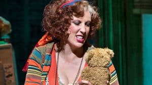 Miranda Hart in Annie at the Piccadilly Theatre
