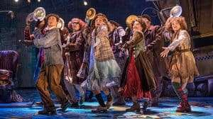The Company Annie The Musical at the Piccadilly Theatre