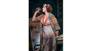 Miranda Hart in Annie at the Piccadilly Theatre – Photo Paul Coltas