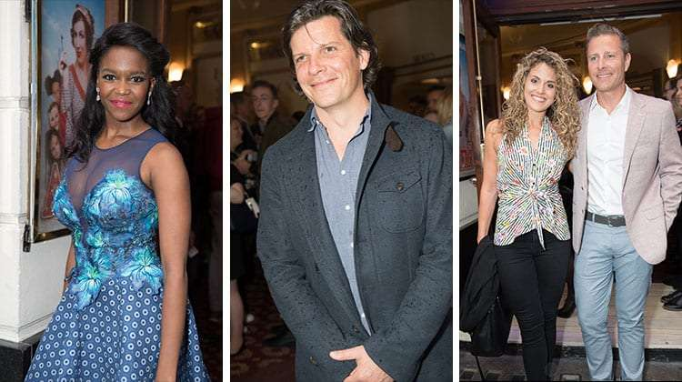 Oti Mabuse, Nigel Harman, Gary Kemp attend Annie opening night