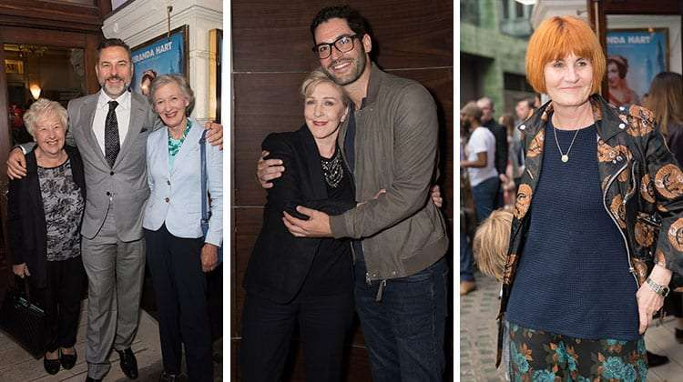 David Walliams, Patricia Hodge, Tom Ellis & Mary Portas attend opening night of Annie.