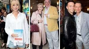 Helen George, Patricia Hodge, Christopher Biggins & John Partrdge - Opening night of Annie at the Piccadilly Theatre - Photo Craig Sugden