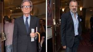 Bill Nighy & Graham Norton - opening night of Annie at the Piccadilly Theatre.