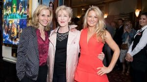 Sally Phillips, Patricia Hodge and Sarah Hadland - Opening night of Annie at the Piccadilly Theatre