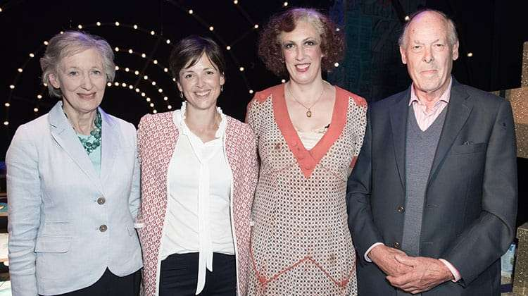 Miranda Hart - opening night of Annie. Photo: Craig Sugden