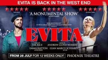 Evita Phoenix Theatre