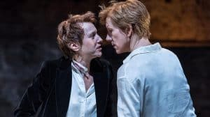 Lia Williams & Juliet Stevenson in Mary Stuart