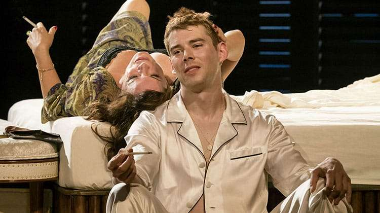 Brian J. Smith & Marcia Gay Harden in Chichester Festival Theatres production of SWEET BIRD OF YOUTH