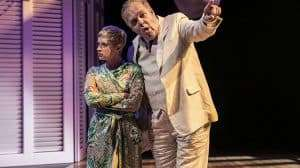 Victoria Bewick & Richard Cordery in Chichester Festival Theatres production of SWEET BIRD OF YOUTH