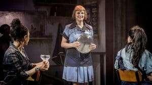 Gillian Bevan in WORKINGat Southwark Playhouse