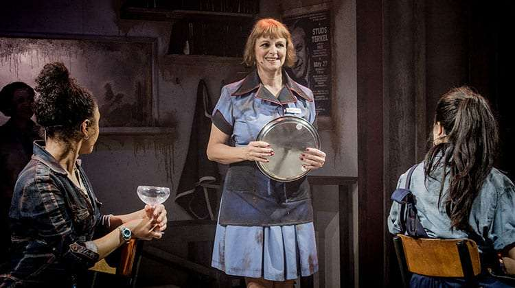 Gillian Bevan in WORKINGat Southwark Playhouse