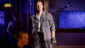 Dean Chisnall in WORKING at Southwark Playhouse