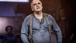 Peter Polycarpou in WORKING at Southwark Playhouse