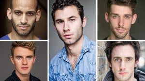 West End cast of Yank! The Musical