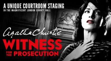 Witness for the Prosecution by Agatha Christie at the London County Hall