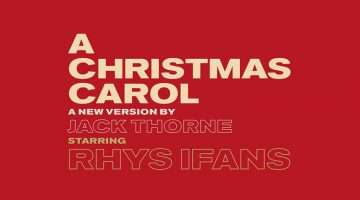 A Christmas Carol at The Old Vic Theatre starring Rhys Ifans