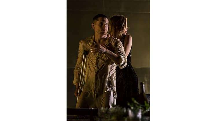 Sienna Miller & Jack O'Connell (Brick)  - Cat on a Hot Tin Roof - Photo Johan Persson | Sienna Miller & Jack O'Connell in Cat On A Hot Tin Roof