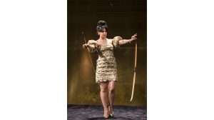Hayley Squires in Cat on a Hot Tin Roof at Apollo Theatre, London