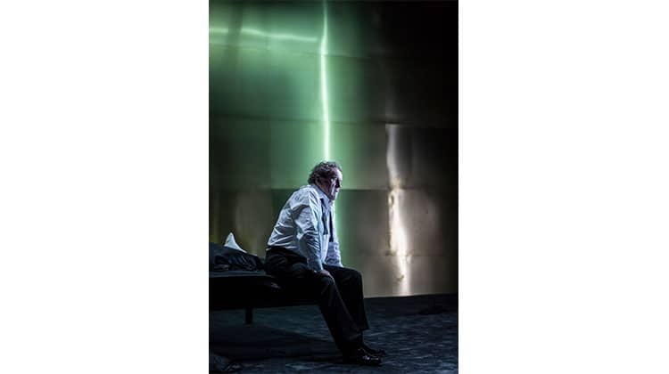 Colm Meaney in Cat on a Hot Tin Roof at Apollo Theatre, London