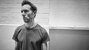 Richard Hansell in rehearsal for Cat on a Hot Tin Roof.