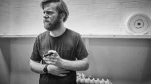 Brian Gleeson in rehearsal for Cat on a Hot Tin Roof. Apollo Theatre, London
