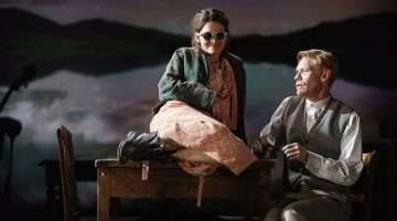 Shirley Henderson & Michael Shaeffer in Girl from the North Country at Old Vic Theatre