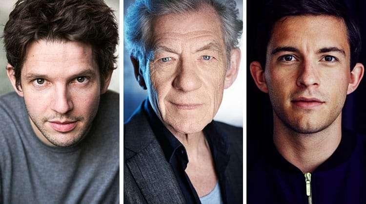 Damian Molony, Ian McKellen & Jonathan Bailey | King Lear
