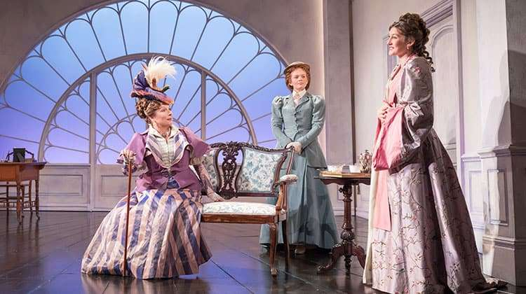 Jennifer Saunders in Lady Windermere's Fan