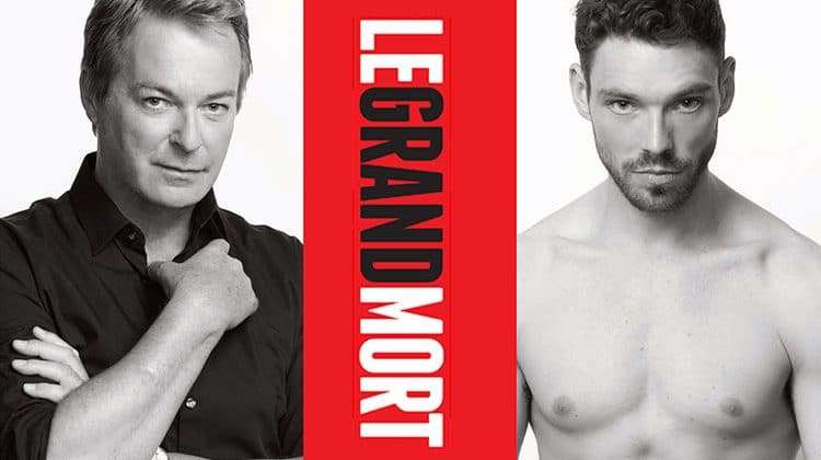 James Nelson-Joyce & Julian Clary in Le Grand Mort, Trafalgar Studios