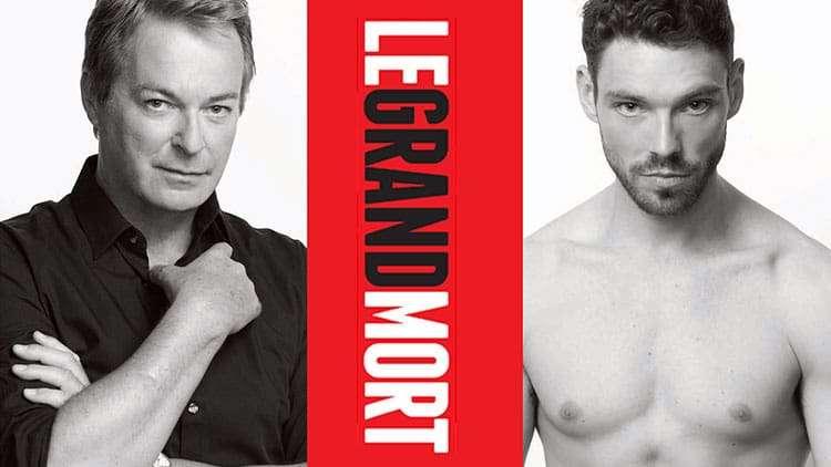 James Nelson-Joyce & Julian Clary in Le Grand Mort, Trafalgar Studios