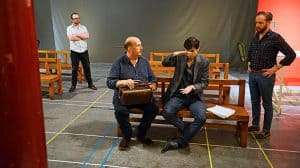 Rehearsal images of North by Northwest | Theatre Royal Bath