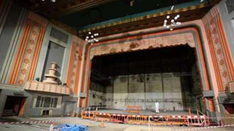 Stockton Globe Theatre | National Lottery funding saves derelict Stockton Globe Theatre