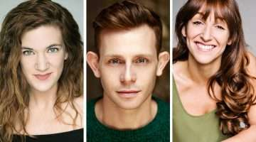 Emma Salvo, Mark Anderson & Natalie Hope. The Toxic Avenger, Arts Theatre
