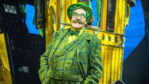 Rufus Hound in The Wind in The Willows. Photo by Marc-Brenner