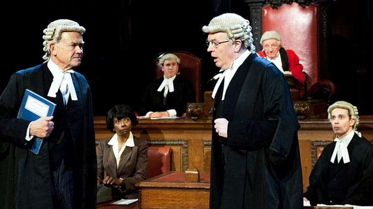 | Witness for the Prosecution by Agatha Christie at the London County Hall