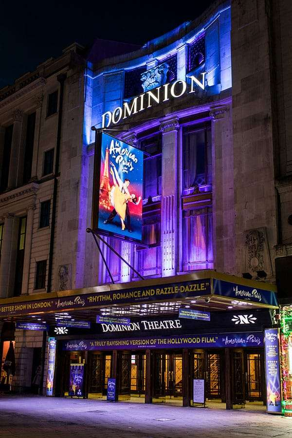 An American in Paris, Dominion Theatre, London